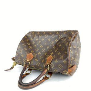 Louis Vuitton Bags - Louis Vuitton Monogram Speedy 30 Medium Boston
